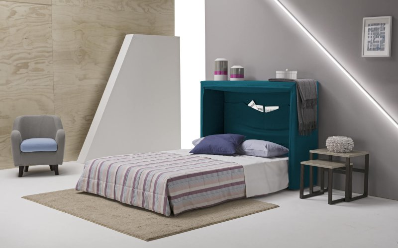 Wally, Foldable Wall Bed