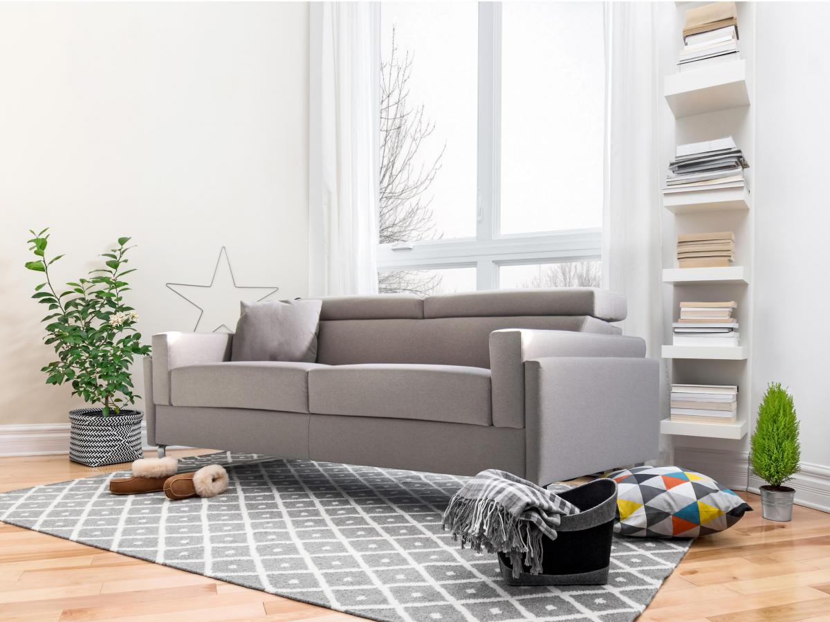Authentic E Saver With Back Cushions Attached To The Mechanism Firenze Sofa